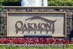 Oakmont Estates community sign