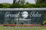 Grand Isles community sign